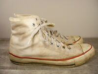 Vintage Converse All Star Chuck Taylor Made In USA Men's High Top Sneakers 12