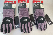 The North Face Girls' Osito Etip Gloves Lavender Ret $30  2 Large, 1 Small