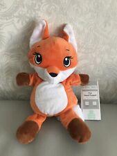 Little Town Fox Hand Puppet Aldi Soft Toy Orange Rare