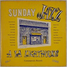 HOWARD RUMSEY ALL STARS: Sunday Jazz US DG Contemporary Lighthouse LP '53