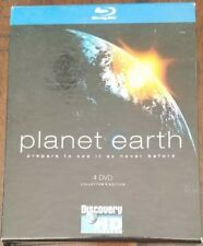 Planet Earth 4 DVD BLU RAY Collector's Edition
