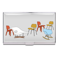 Vintage Acme Studio Charles And Ray Eames Eames Chairs Business Card Case New