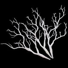 Weiß Manzanita Hochzeit Deko Pflanze Baum Ast Künstlich Chemisch 36cm 3 Stk. Neu