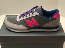 NEW BALANCE 501   GREY/PINK   MEN'S SIZE 11  ATHLETIC CASUAL SHOES  MZ501RBC 097