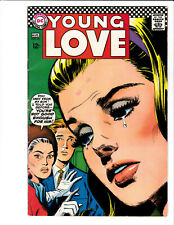 Young Love #62  DC 1967 FN 6.0 cover by Jay Scott Pike