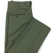 Vintage NOS FECHHEIMER BROS CO. Uniform Pants Size 37R 37 x 30 Green USA Made