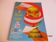 Denmark Away Team World Cup Football World Cup Fixture Programmes