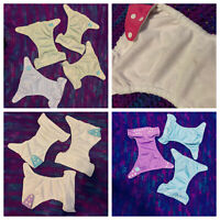 One Size Pocket Cloth Diapers and Inserts- Charlie Banana and Alva Baby