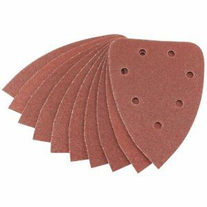 Draper 98x141mm Sanding Sheets Hook & Loop (Pack of 10) for multi sanders