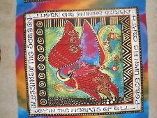 "Laurel Burch --""Blessings of the Season""- Stunning Quilt Panel--Colorful"