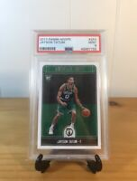2017-18 Panini NBA Hoops Jayson Tatum Rookie Card PSA 9 MINT StockX Verified