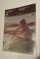 Vintage Montreal 1976 Olympic Game Rowing  / Aviron   Program