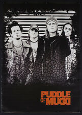 Rare Vintage 2002 Puddle Of Mudd Music Store Promotional Poster Grunge Rock D17