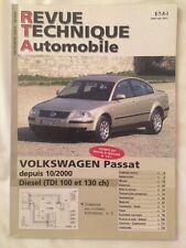 Revue Technique VOLKSWAGEN Passat Diesel TDI 100 et 130ch