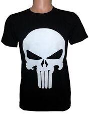 REVENGER SKULL T Shirt 100% Combed Cotton Short Sleeve Tee Costume Superhero BW