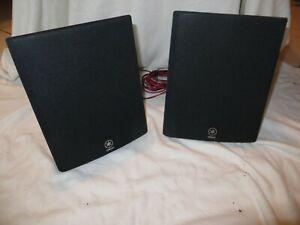 Yamaha NS-E103 2 Stück Front Surround Lautsprecher schwarz Boxen