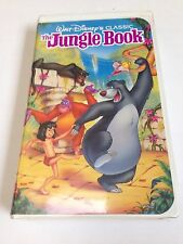 The Jungle Book Walt Disney Black Diamond 1991 VHS Tape
