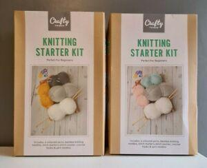 Knitting Starter Kit - Great for beginners!