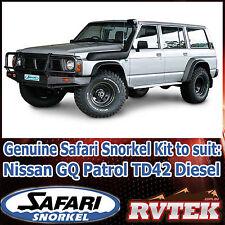 GENUINE SAFARI SNORKEL SS13R FITS GQ NISSAN PATROL Y60 TD42 4.2 DIESEL 88-97