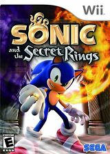 SONIC AND THE SECRET RINGS NINTENDO WII AND WII U KIDS GAME VERY GOOD CONDITION