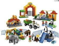 Lego Duplo Big Zoo 6157 Hard To Find With Lots Of Animals Zookeeper And Vehicle