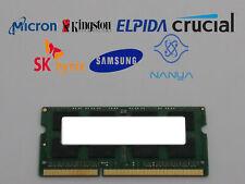 Major Brand 4 GB DDR3-1066 PC3-8500S 2Rx8 1.35V SO-DIMM Laptop RAM
