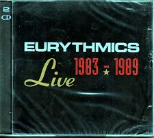 EURYTHMICS LIVE 1983 - 1989 DOPPIO CD SEALED