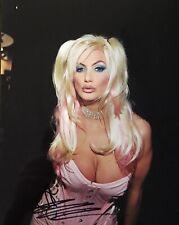Brittany Andrews Signed 8x10 Photo Adult Star Autograph Naughty America Candid