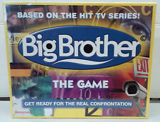 NEW - BIG BROTHER THE GAME - BIG BROTHER BOARD GAME - SEALED - MADE IN 2000