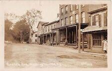 1908 RPPC 1st National Bank Stores Goshen Ave. Washingtonville NY Orange County