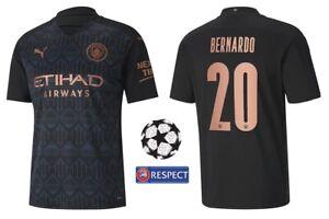 Trikot Puma Manchester City 2020-2021 Away - Bernardo 20 I Champions League