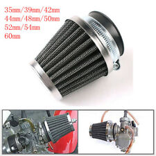 Air Intake Filter Cone High Flow Short Ram Trunk Car Racing Cold Cleaner Black