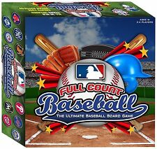MLB Full Count Baseball, The Ultimate Baseball Board Game NEW SEALED