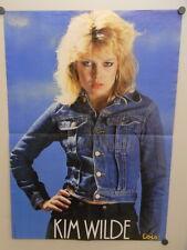Poster NL LOIS Jeans 1981 / 48 x 68 cm / Kim Wilde (e-02769)