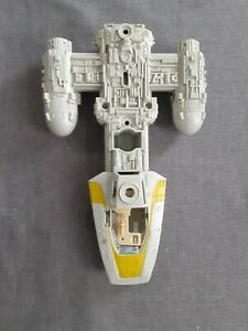 Vintage 1983 Kenner Star Wars Y Wing Fighter Body With Motor. Incomplete