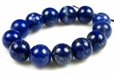 Quality Grade Natural Genuine Lapis Lazuli Round Bead - 7.5mm - 13 beads - 3922A