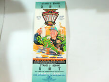1997 Indy 500 ticket featuring buddy Lazier 1996 winner  ,(**)