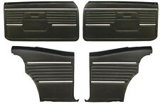 1968 CAMARO PREASSEMBLED DOOR PANEL KIT 68 FRONT & REARS
