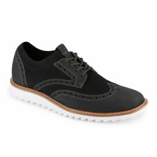 Dockers Mens Hawking Knit/Leather Dress Casual Wingtip Oxford Shoe with NeverWet