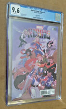 Marvel Alpha Rising #1 1st Print 1:25 Stacey Lee Variant CGC 9.6 NM+