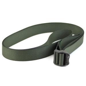 Bulldog 25mm Width Ladderlock Buckle Military Army Webbing Utility Strap Green