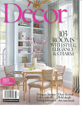 DECOR MAGAZINE SPRING/SUMMER 2017, 103 ROOMS WITH STYLE,ELEGANCE&CHARM.