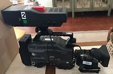 JVC KY-19U 19 Professional Camcorder w/Canon YH18x6.7 K12U Lens & JVC Viewfinder