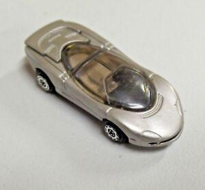 "1998 GTI Corvette Indy Silver MM TM GM Corp Diecast Miniature Car 2 1/4"" Lg."