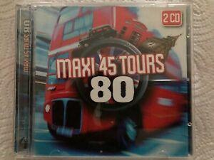 Album 2CD Maxi 45 Tours 80 Très bon état