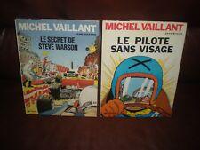 MICHEL VAILLANT - LOT DE 2 TOMES EDITIONS DARGAUD FIN ANNEES 70