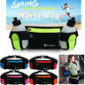 Gym Running Belt Jogging Cycling Waist Pack Pouch Sports Bags w/2 Water Bottles
