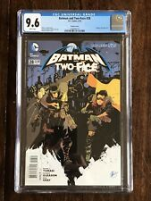 Batman and Two-Face #28 Steam Punk Variant DC Comics New 52 CGC 9.6 NM+
