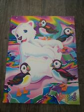 Lisa Frank Folder Polar Bear 2 Pocket School Folder *some writing inside*