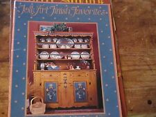 Folk Art Finish Favorites country Americana craft painting book booklet